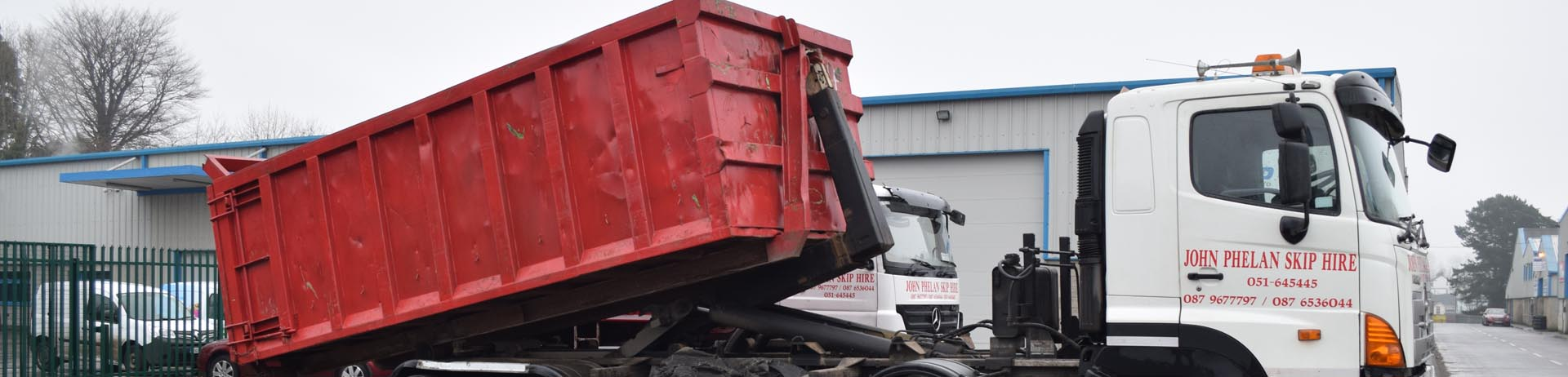 commercial skip hire image