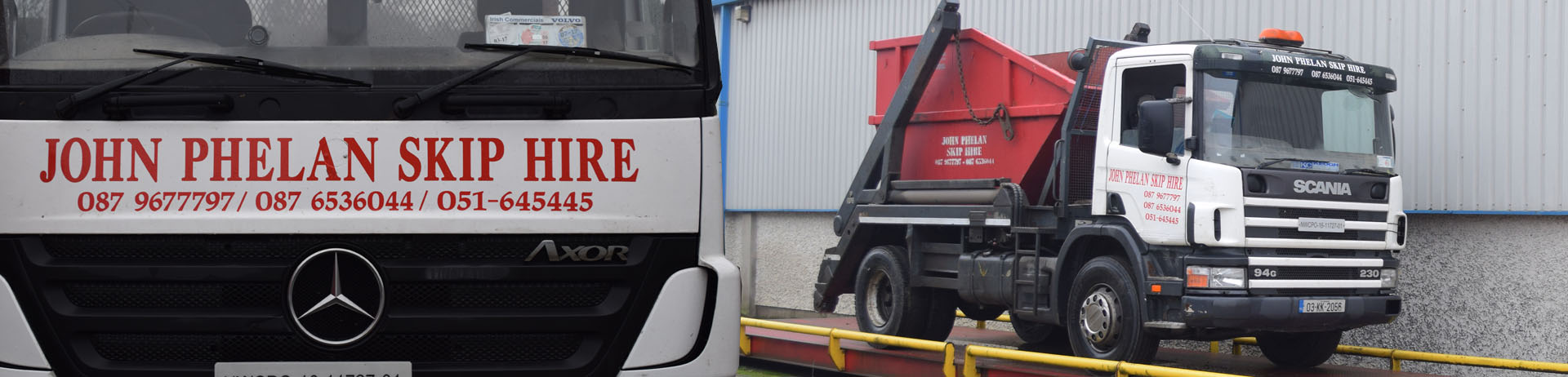skip hire about us header